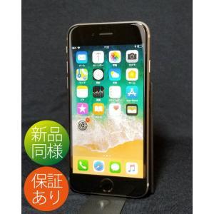 保証付|新品同様●iPhone6s 64GB SIMフリー スペースグレイ A1688