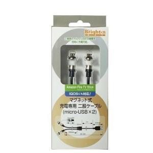 BMMJHCM22017年09月 発売◆二股ケーブルにより2種類のMicro USBの機種を同時に充...