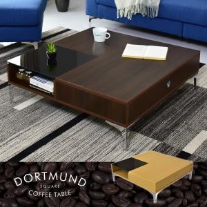 テーブル カフェテーブル ローテーブル コーヒー センターテーブル シンプル おしゃれ カフェテーブル 北欧 ドルトムント ドリスの写真