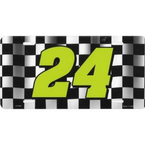 ライセンスプレート:チェッカー24|grease-shop