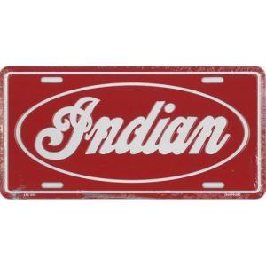ライセンスプレート:Indian|grease-shop