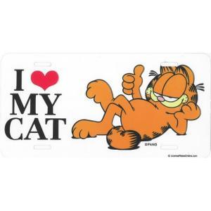 ライセンスプレート:Garfield(ガーフィールド)|grease-shop
