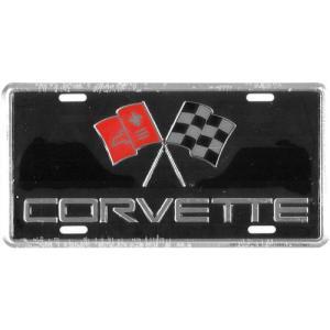 ライセンスプレート:Corvette|grease-shop