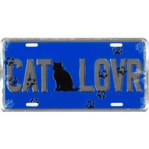 ライセンスプレート:Cat Lovr|grease-shop
