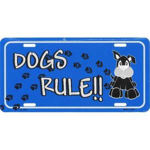 ライセンスプレート:Dogs Rule|grease-shop