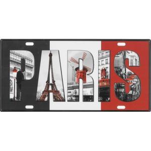 ライセンスプレート:Paris|grease-shop