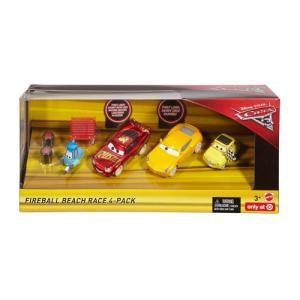 カーズ3 カーズクロスロード:ファイヤーボール・ビーチ・レース・4パック (Fireball Beach Race 4-Pack)|grease-shop