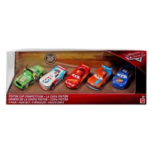 カーズミニカー:ピストン・カップ・コンペティション・5パック (Piston Cup Competition 5-Pack)|grease-shop