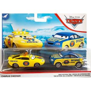 カーズ:チャーリー・チェッカー & レース・オフィシャル・トム (Charlie Checker & Race Official Tom)|grease-shop