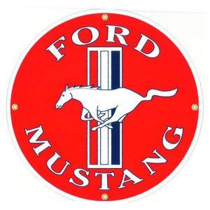 自動車ロゴプレート:FORD MUSTANG|grease-shop