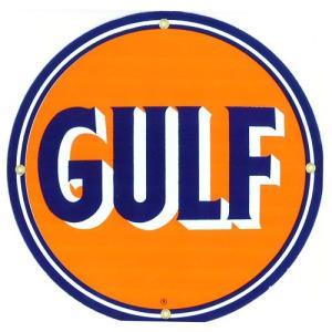 ロゴプレート:GULF|grease-shop