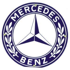 自動車ロゴプレート:MERCEDES BENZ|grease-shop
