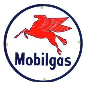 ロゴプレート:MOBILGAS|grease-shop