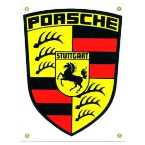 自動車ロゴプレート:PORSCHE|grease-shop