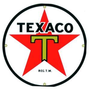 ロゴプレート:TEXACO|grease-shop