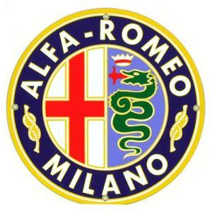 自動車ロゴプレート:ALFA ROMEO|grease-shop