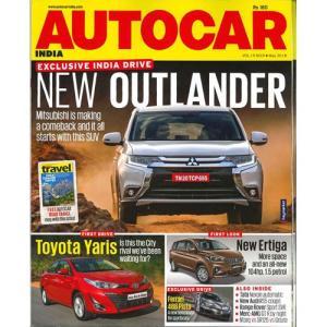 洋雑誌:Autocar India 2018年5月号(インド版・オートカーインディア)|grease-shop