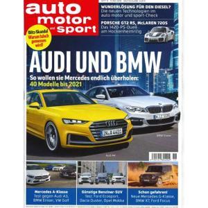 洋雑誌:Auto Motor und Sport 2018年5月9日号 (ドイツ版/アウトモータウントシュポルト) grease-shop