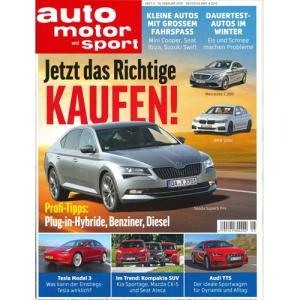 洋雑誌:Auto Motor und Sport 2019年2月14日号 (ドイツ版/アウトモータウントシュポルト)|grease-shop