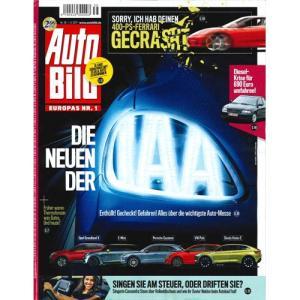 洋雑誌:Auto Bild 2017年9月1日号 (ドイツ版/アウトビルト)|grease-shop