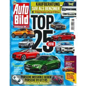 洋雑誌:Auto Bild 2017年11月17日号 (ドイツ版/アウトビルト)|grease-shop