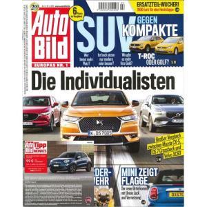 洋雑誌:Auto Bild 2018年1月19日号 (ドイツ版/アウトビルト)|grease-shop