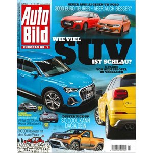 洋雑誌:Auto Bild 2019年1月24日号 (ドイツ版/アウトビルト)|grease-shop