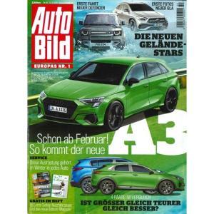 洋雑誌:Auto Bild 2019年12月12日号 (ドイツ版/アウトビルト)|grease-shop