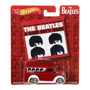 Hot Wheels Pop Culcure 2017 The Beatles(ビートルズ):デイリー・デリバリー (Daily Delivery / A Hard Day's Night)|grease-shop