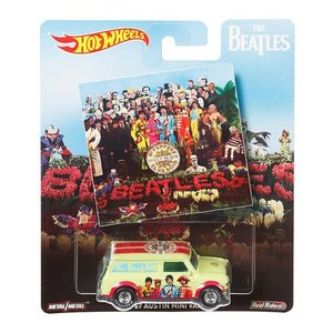 Hot Wheels Pop Culture 2017 The Beatles(ビートルズ):1967 オースチン・ミニバン (Austin Mini Van / Lonley Hearts)|grease-shop