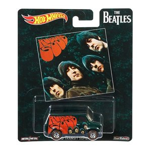 Hot Wheels Pop Culture 2017 The Beatles(ビートルズ):フォード・トランジット・スーパーバン (Ford Transit Supervan / Rubber Soul)|grease-shop