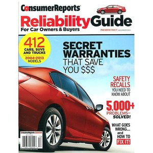 Consumer Reports Special : Reliability Guide 2004-13 (米国版)|grease-shop
