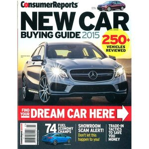 Consumer Reports Special : New Car Buying Guide 2015 (米国版)|grease-shop