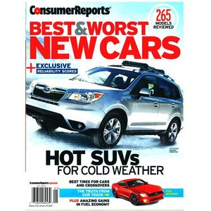 Consumer Reports Special : Best & Worst New Cars 2015 (米国版)|grease-shop