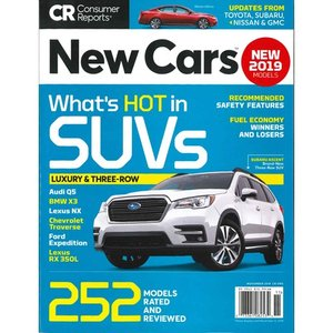 洋雑誌:Consumer Reports Special : New Cars (November 2018) (米国版・コンシューマーリポート別冊)|grease-shop