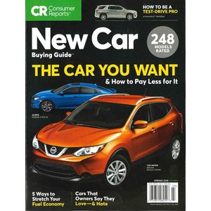 洋雑誌:Consumer Reports Special : New Car Buying Guide  (Spring 2018) (米国版・コンシューマーリポート別冊)|grease-shop