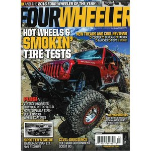 洋雑誌:Four Wheeler 2016年4月号 (米国版/フォー・ウィーラー)|grease-shop