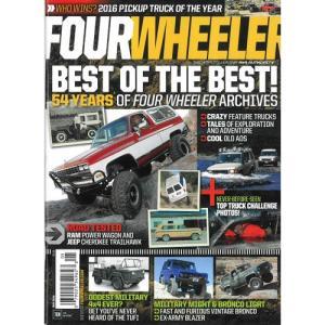 洋雑誌:Four Wheeler 2016年5月号 (米国版/フォー・ウィーラー)|grease-shop