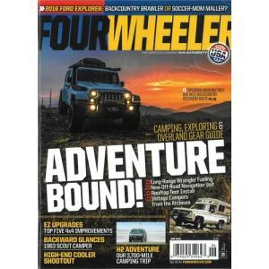 洋雑誌:Four Wheeler 2016年6月号 (米国版/フォー・ウィーラー)|grease-shop