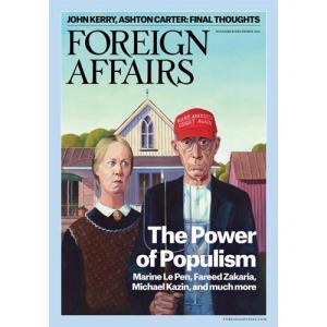 洋雑誌:Foreign Affairs 2016年11月/12月号 (米国版・フォーリン・アフェアーズ/Subscription版)|grease-shop