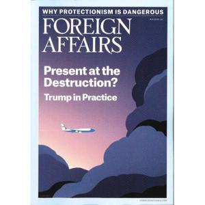 洋雑誌:Foreign Affairs 2017年5月/6月号 (米国版・フォーリン・アフェアーズ/Subscription版)|grease-shop