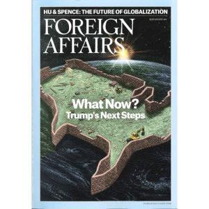 洋雑誌:Foreign Affairs 2017年7月/8月号 (米国版・フォーリン・アフェアーズ/Subscription版)|grease-shop