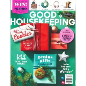 洋雑誌:Good Housekeeping 2017年12月号 (米国版/グッド・ハウスキーピング) grease-shop