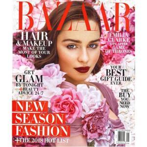 洋雑誌:Haper's Bazaar 2017年12月/2018年1月号 (米国版・ハーパーズ・バザー)|grease-shop