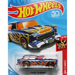 Hot Wheels Basic:クラシック 1955 ノマド (Nomad)(ブルー)|grease-shop
