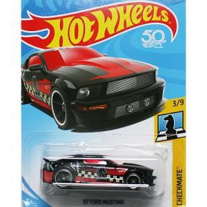 Hot Wheels Basic:2007 フォード・マスタング (Ford Mustang)(ブラック)|grease-shop