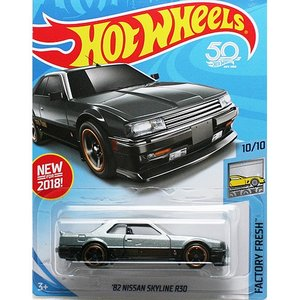 HotWheels Basic:1982 ニッサン・スカイライン R30 (Nissan Skyline R30)(ガンメタ)|grease-shop