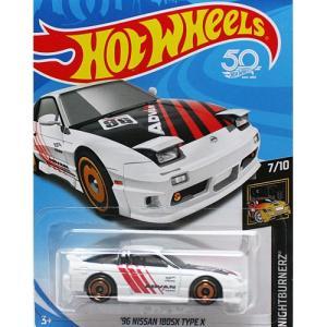 HotWheels Basic:1996 ニッサン・180SX タイプX (Nissan 180SX Type X)(ホワイト)|grease-shop