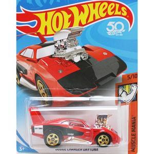 HotWheels Basic:ダッヂ・チャージャー・デイトナ (Dodge Charger Daytona)(レッド)|grease-shop