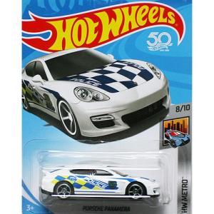 HotWheels Basic:ポルシェ・パナメーラ (Porsche Panamera)(ホワイト)|grease-shop